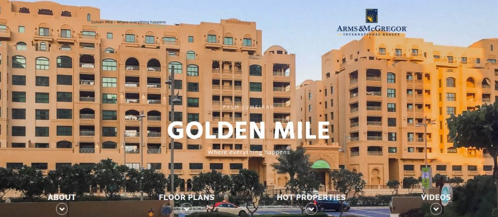 Golden Mile Palm Jumeirah