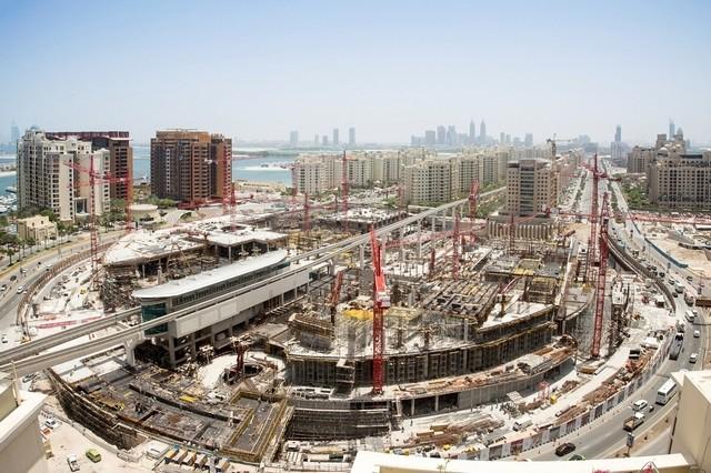 nakheel mall construction