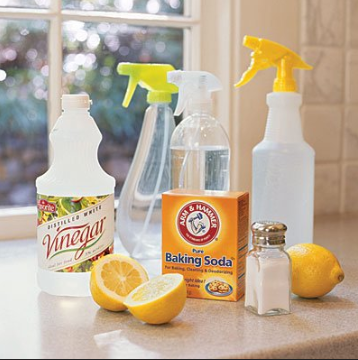 how to clean in a cleaning job