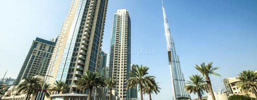 burj residences downtown