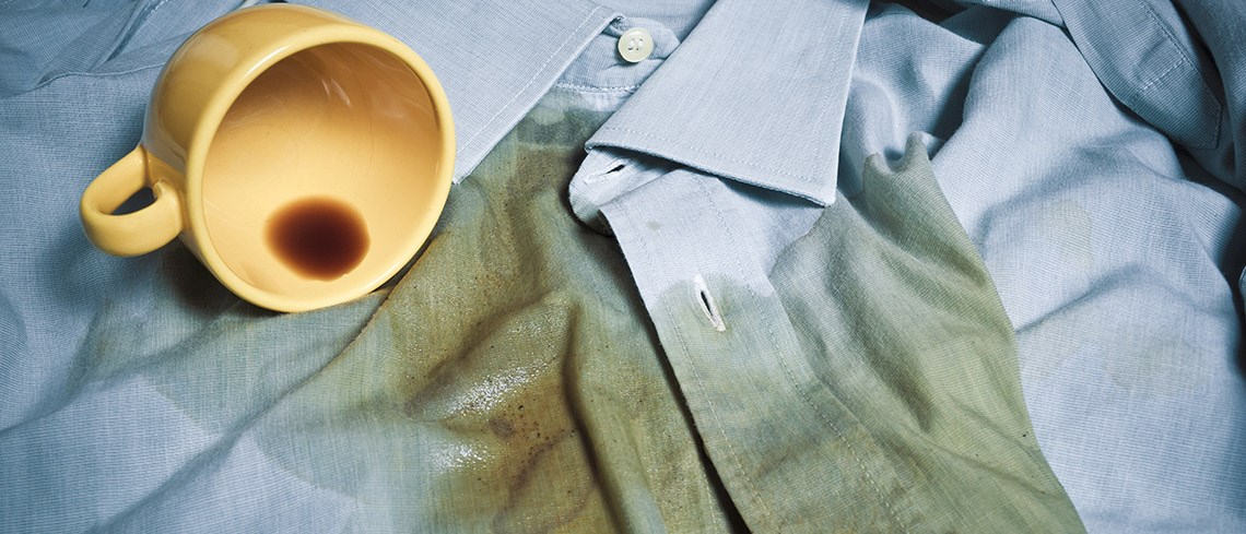 Removing coffee stains for How to get a coffee stain out of a shirt