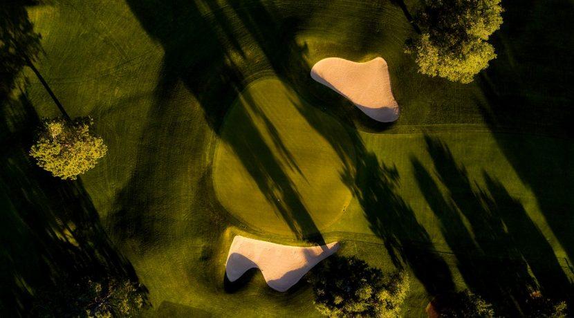 Dubai golf view homes