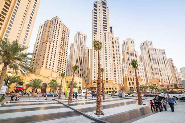 Rental dip in Dubai