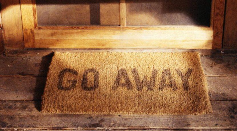 Cockroach go away mat