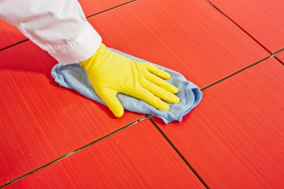best ways to clean tiles