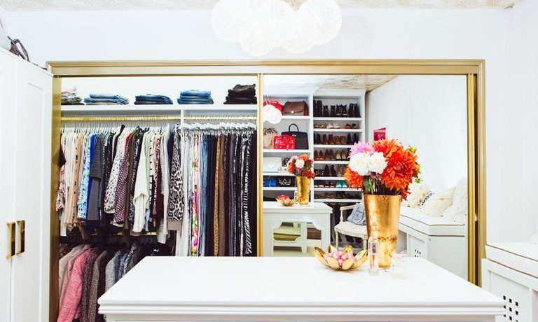 create a luxurious closet for less