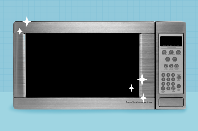 Here's Exactly How to Clean Your Microwave