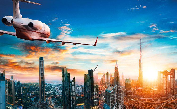 Dubai skyline 2020
