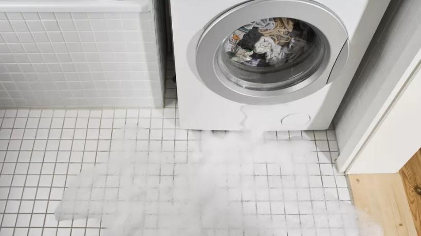 washing machine leakage