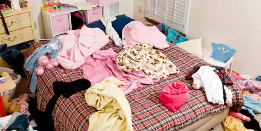 Messed up room