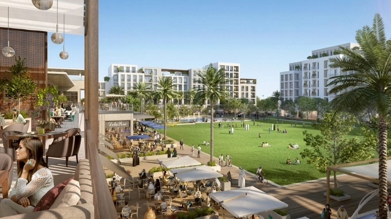 The valley community by Emaar